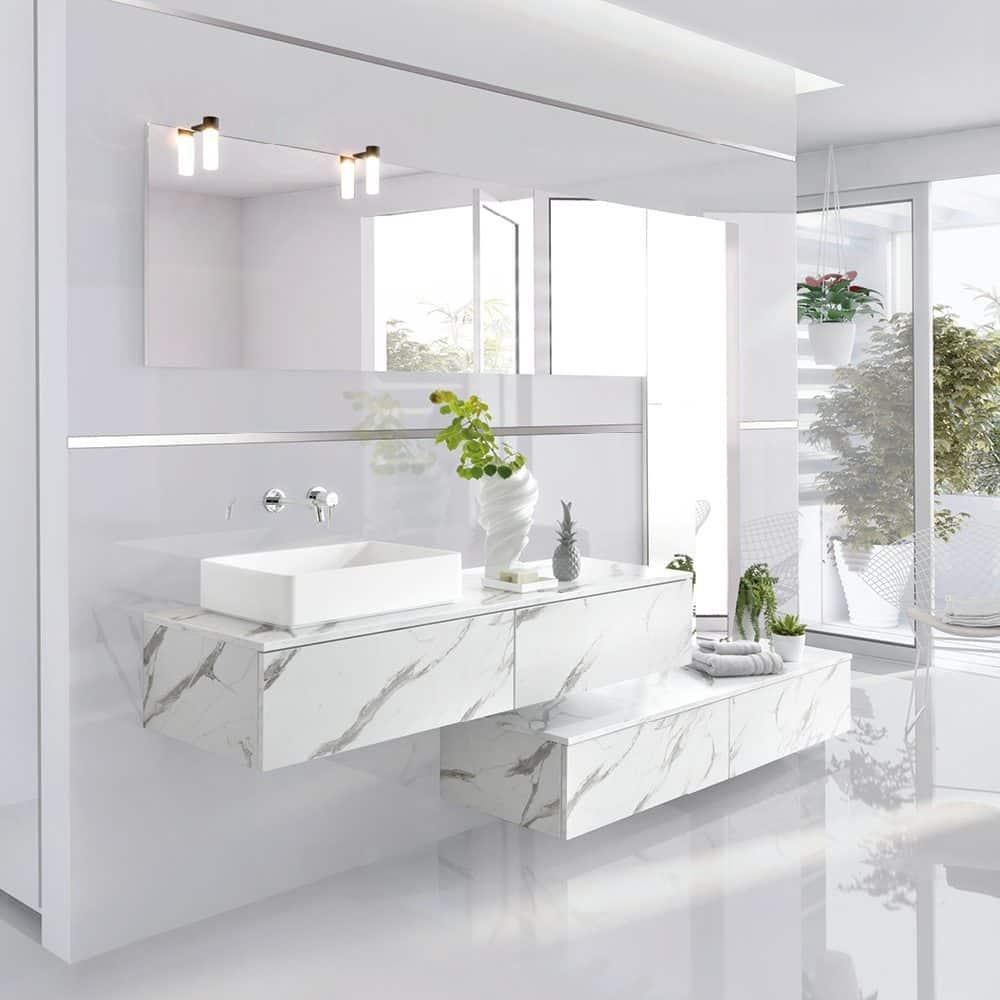 arcos marmor nytt bad bad innredning schmidt kj kken bad. Black Bedroom Furniture Sets. Home Design Ideas