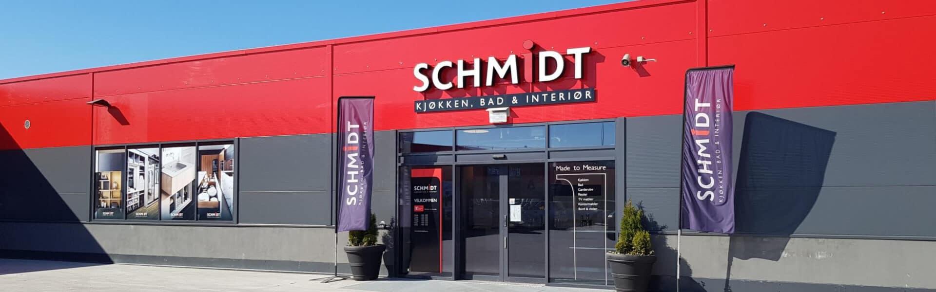 Schmidt kjøkken, bad og interiør i Drammen.