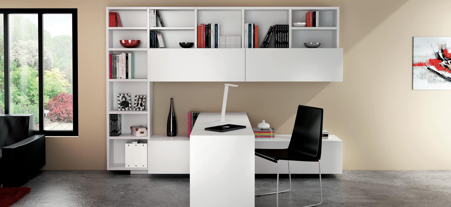Moderne Innredning av hjemmekontor | Schmidt Kjøkken, bad & Interiør XY-17