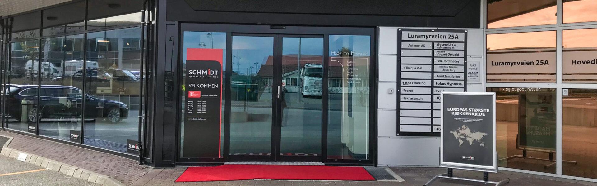 Schmidt kjøkken, bad og interiør i Stavanger.