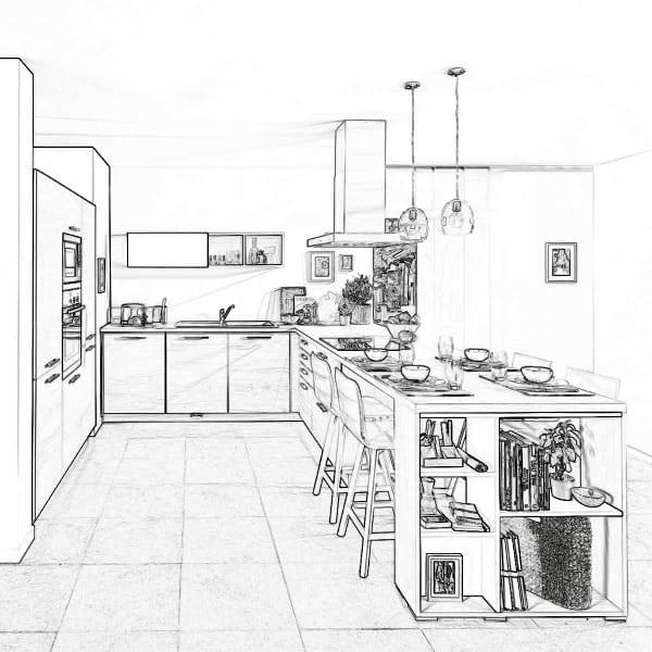 Flott Hva koster et nytt kjøkken? Få et tilbud på et kjøkken hos Schmidt BC-14