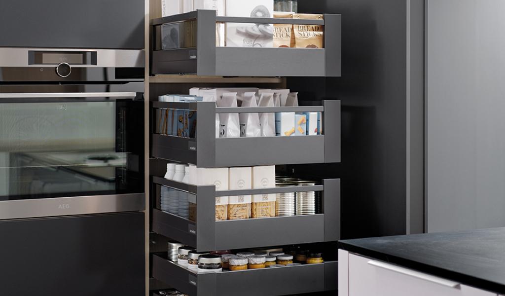 Kjøkkenskuffer av høy kvalitet