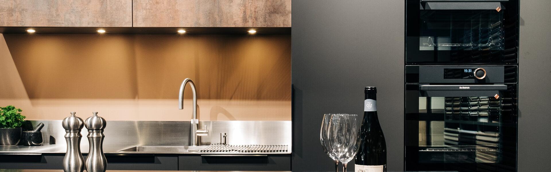 kjøkkenbenk i stål