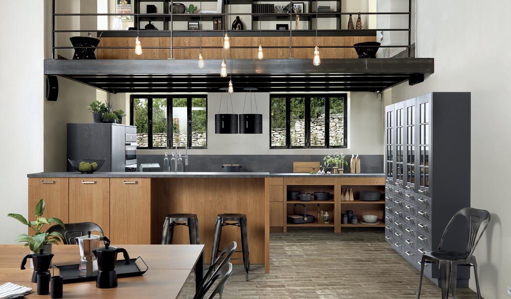 Kjøkken i tre