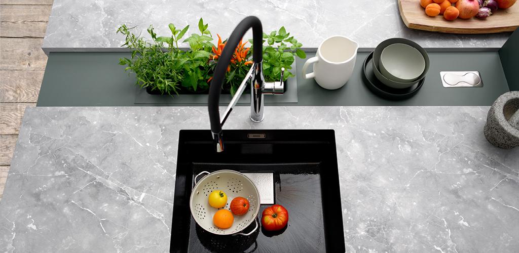 Kjøkken benkeplate i laminat