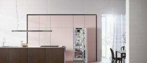 pink kjøkken